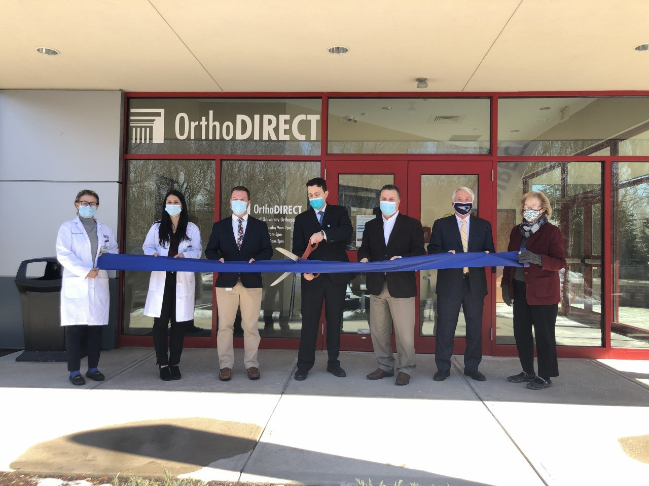 University Orthopedics Celebrates OrthoDirect Location in East Greenwich with Ribbon Cutting