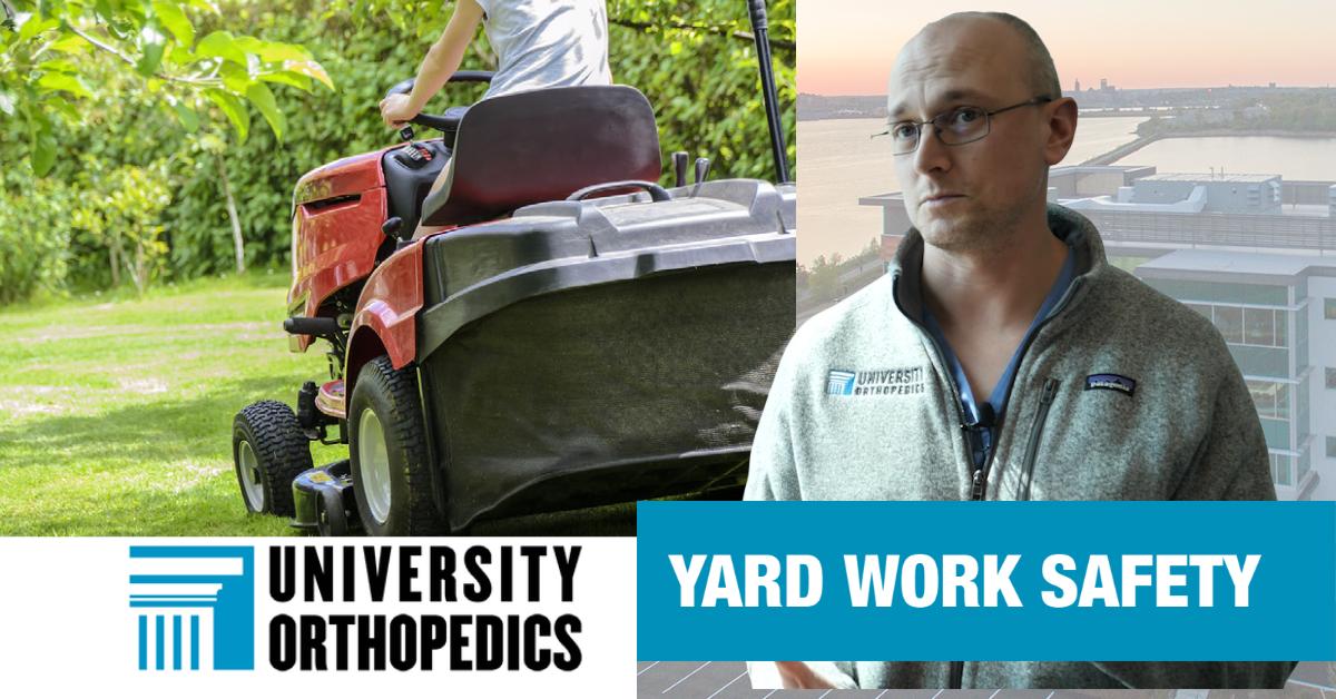 Dr. Got Advice on Avoiding Yard Work Injuries