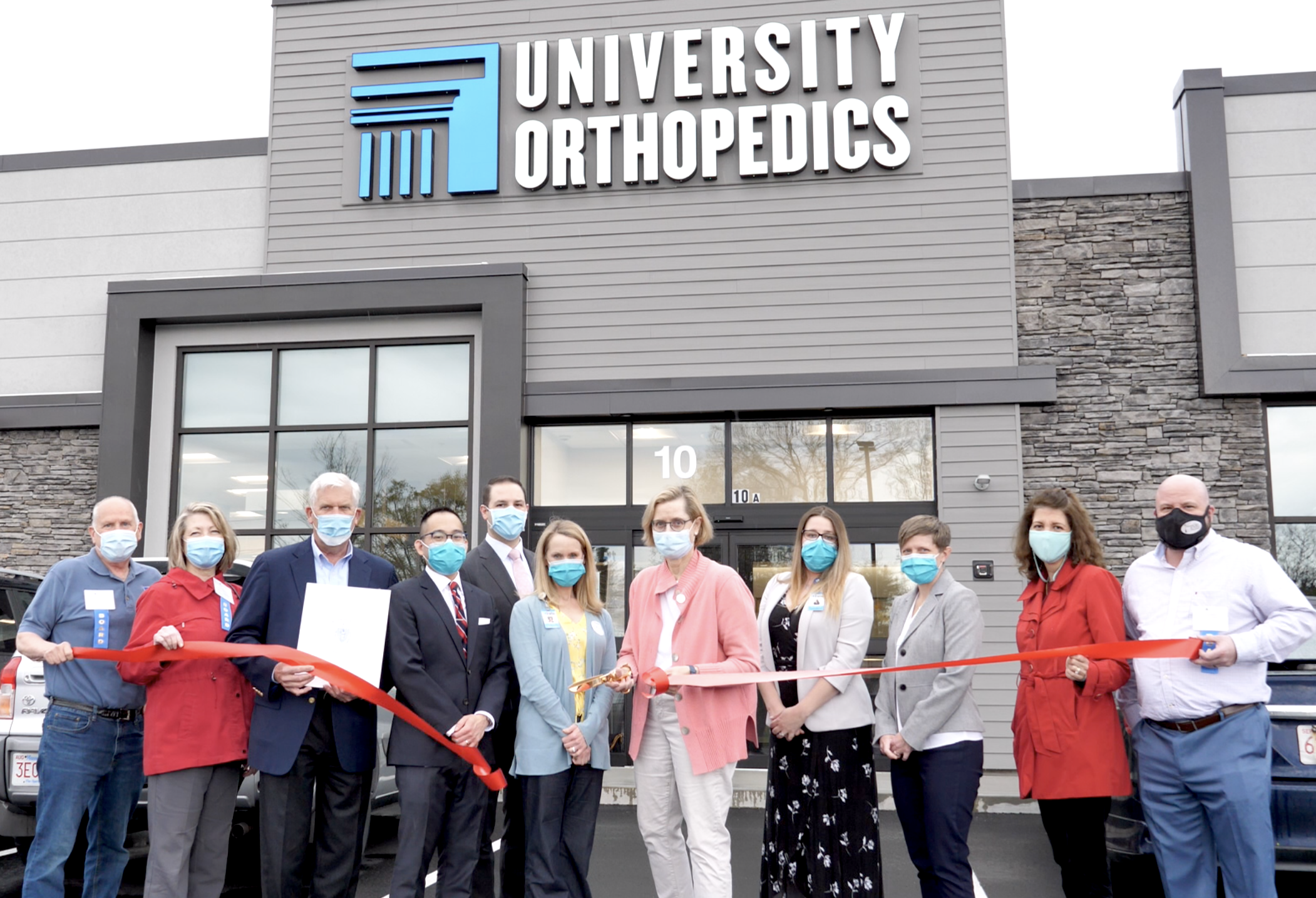 University Orthopedics Mansfield Receives Warm Welcome