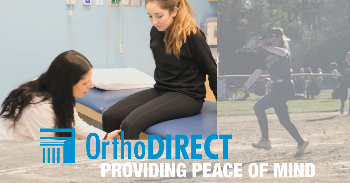 OrthoDirect Provides Softball Mom Peace of Mind