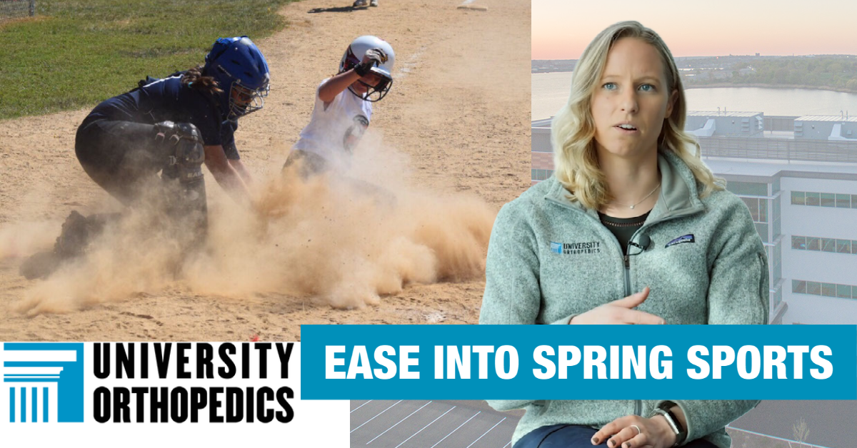 UOI Athletic Trainers: Athletes should ease back into activity after long winter