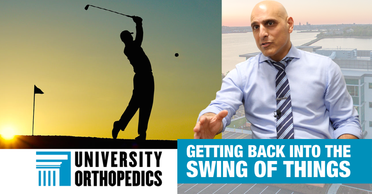Dr. Tabaddor: Golf can lead to hip, back injuries, but it doesn't have to