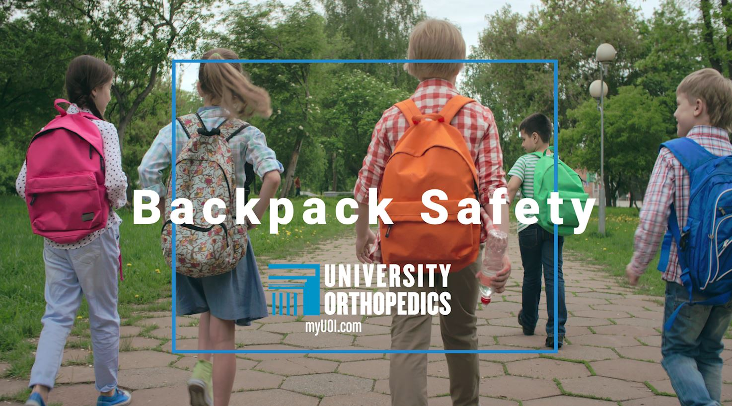 Read more about the article With Lockers Off Limits, Backpack Safety is Vital
